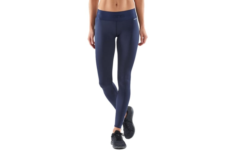SKINS DNAmic Primary Women's Long Tights (Navy Blue, Size L)