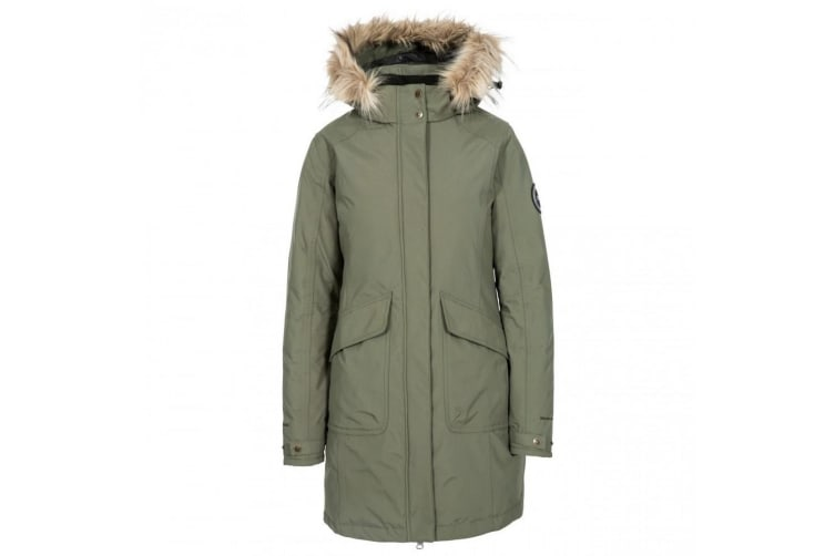 Trespass Womens/ladies Bettany Dlx Down Jacket (Basil) (XL)