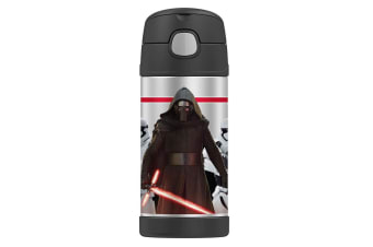 Thermos Funtainer 355ml Insulated Stainless Steel Drink Bottle Star Wars Ren GRY