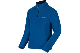Regatta Great Outdoors Mens Thompson Half Zip Fleece Top (Oxford Blue/Navy)