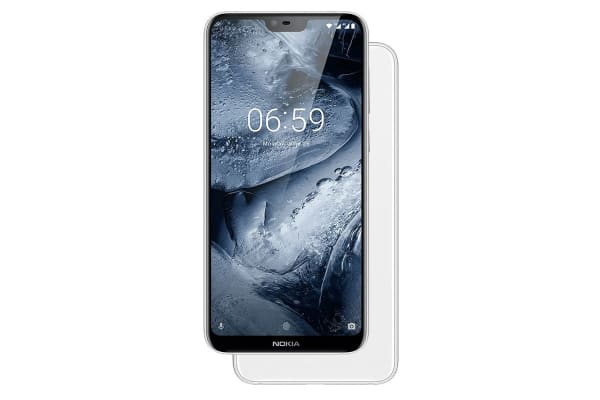 Nokia 6.1 Plus (64GB, White)