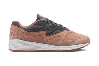 Saucony Men's Grid 8000 Shoe (Salmon/Charcoal, Size 5)