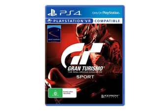 Sony PlayStation 4 Gran Turismo Sport Game