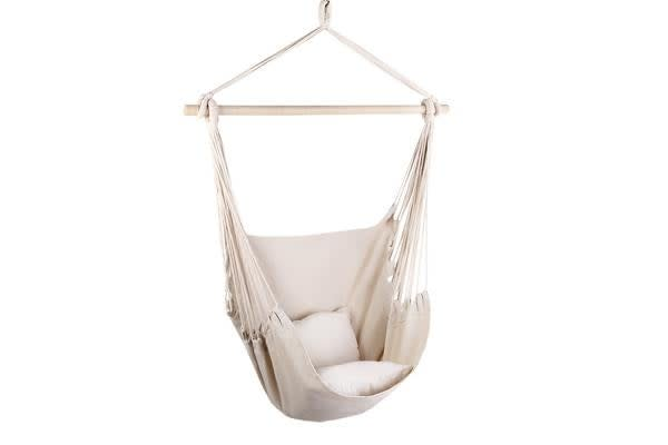 Gardeon Hammock Chair (Cream)
