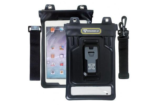"Armor-X Waterproof Tablet Case with universal design 7 - 8"" tablet or all-in-one pouch"