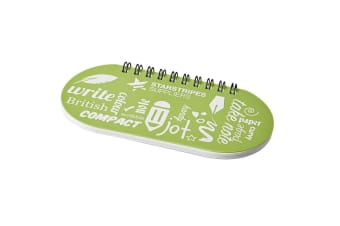 Desk-mate Capsule Notebook (Frosted Green/Solid Black)