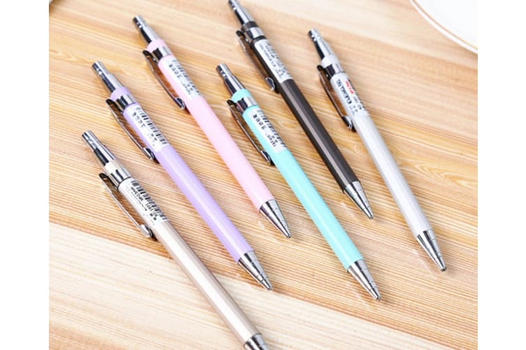 Metal Automatic Pencil Student Activity Pencil Stationery Purple 0.5Mm