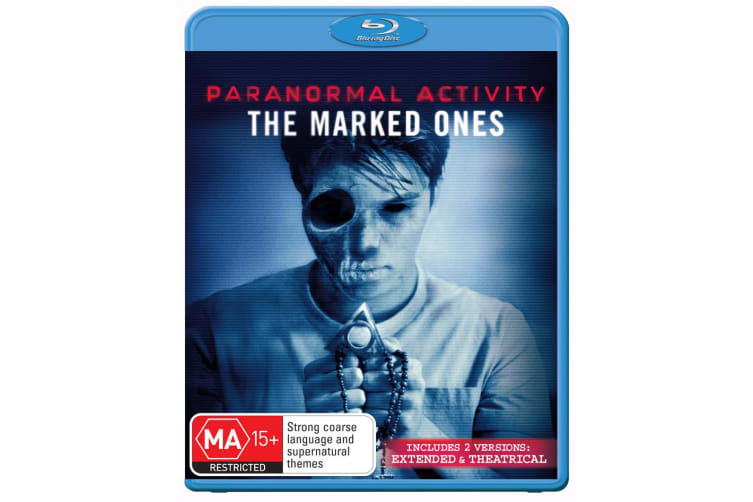 Paranormal Activity The Marked Ones Blu-ray Region B