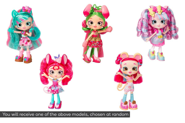 Shopkins Shoppies Wild Style Doll (Assorted)
