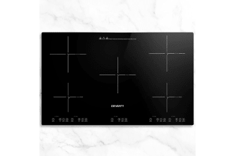Devanti Induction Cooktop 90cm Electric Hob Stove Cooker Ceramic Black Glass
