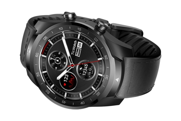 TicWatch Pro Black Bluetooth Smart Watch