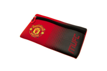 Manchester United FC Pencil Case (Red/Black)