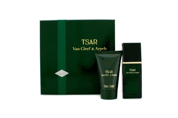 Van Cleef & Arpels Tsar Coffret: Eau De Toilette Spray 30ml/1oz + After Shave Balm 40ml/1.3oz (2pcs)