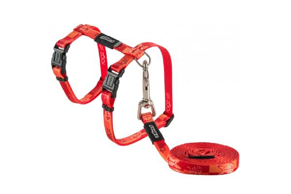 Rogz Kiddycat Harness Lead Tango Fish - S