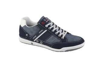 Route 21 Mens 7 Eyelet shoes (Navy/Blue)
