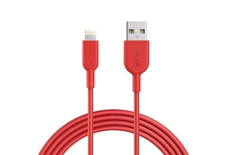 Anker PowerLine II Lightning 3m A8434H91 (Red)