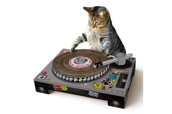 Cardboard Cat Scratch DJ Deck Scratching Pad | Suck UK