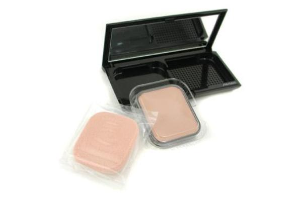 Shiseido Sheer Matifying Compact Oil Free SPF22 - # I60 Natural Deep Ivory (Case + Refill) (9.8g/0.34oz)