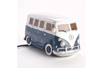 Retro Blue Kombi Campervan Table Lamp | combi van vw night light