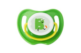 Pigeon Calming Baby Nursing Soother Dummy Size M Feeding Pacifier 0m+ Ball Green
