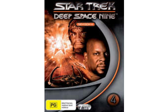 Star Trek Deep Space Nine Series 4 DVD Region 4