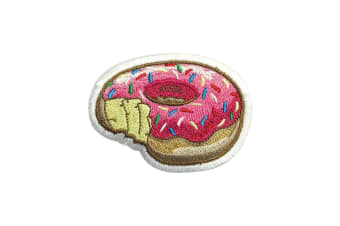 Grindstore Donut Bite Patch (Pink) (One Size)