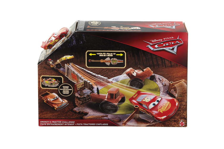Cars Smokeys Hit Course Playset