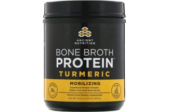 Dr. Axe / Ancient Nutrition Bone Broth Protein - Turmeric 460g