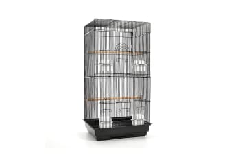 Pet Bird Cage Medium 88CM (Black)