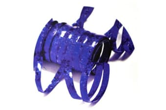 Creative Party Holographic Streamers (Electric Blue)