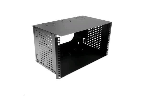 "Dynamix HWMB300-6U DYNAMIX 6U 300mm Deep 19"" Fully     Enclosed Hinged Wall Mount Bracket."