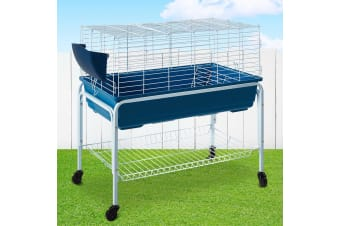 i.Pet Rabbit Cage Hutch Cages Indoor Hamster Enclosure Bunnings Carrier Bunny BK
