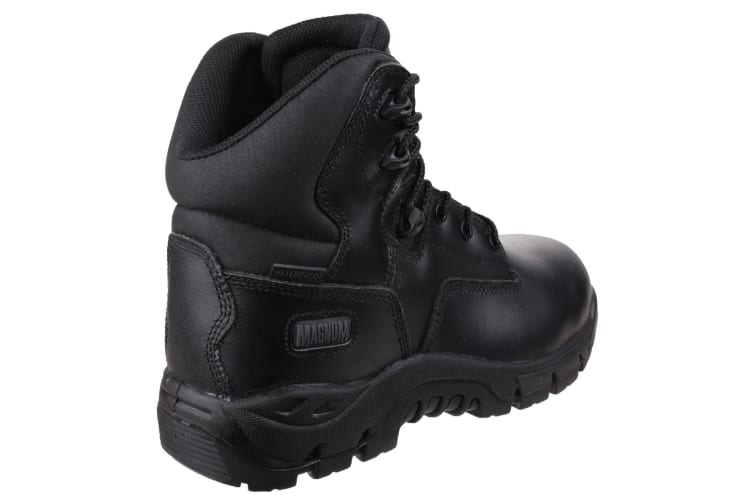 Magnum Mens Precision Leather Safety Boots (Black) (8 UK)