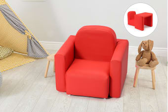 Ovela Kids Transformer Chair Table - Red