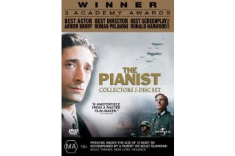 The Pianist DVD Region 4