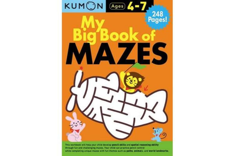 My Big Book of Mazes Bind Up