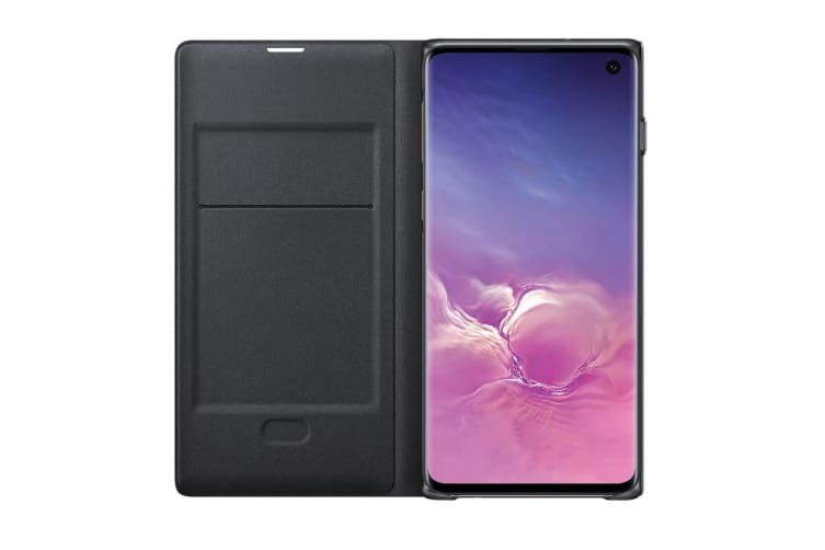 Samsung Galaxy S10 LED View Wallet Cover - Black