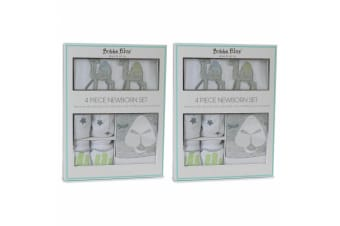 2PK Bubba Blue Sahara Newborn Layette Gift Set