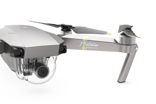 DJI Mavic Pro Platinum Drone - Fly More Combo