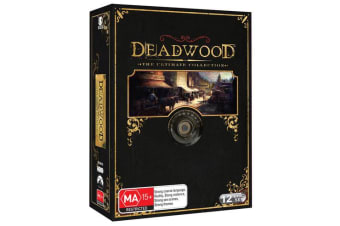 Deadwood The Ultimate Collection DVD Region 4