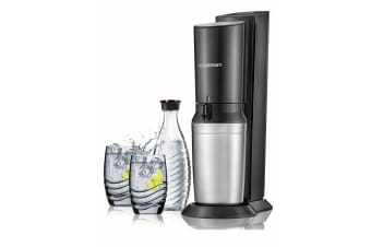 SodaStream Crystal Sparkling Water Maker with Bonus Glasses