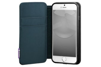 Switcheasy Lifepocket Case/Cover Flip Wallet/Card Holder for iPhone 6/6S Navy BL