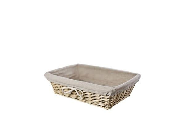 Ethos Willow Basket Rectangle 34cm
