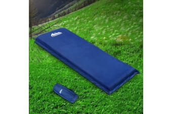 Self Inflating Mattress Camping Sleeping Mat Air Bed Pad Single 10CM
