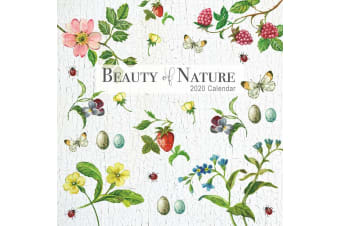 Beauty of Nature - 2020 Wall Calendar 16 month Premium Square 30x30cm (W)