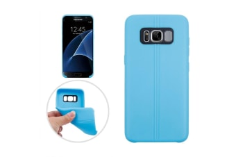For Samsung Galaxy S8 PLUS Case Stylish Dotted Grippy Protective Cover Blue