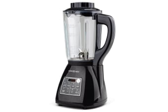 NEW EuroChef Glass Soup Maker-Blender Kettle Hot Cold LCD Processor Stainless