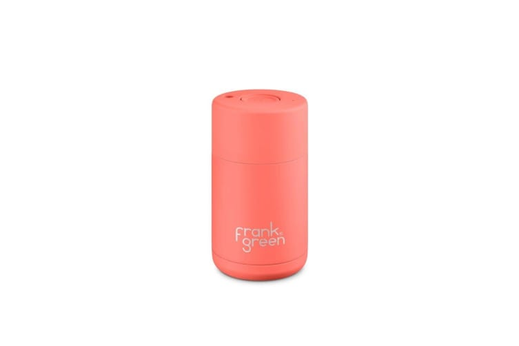 Frank Green Ceramic Reusable Cup 295ml Living Coral