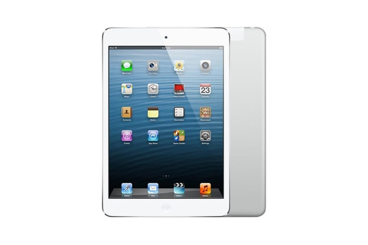 Apple iPad mini 2 Cellular 128GB Silver/White - Refurbished Good Grade