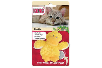 KONG Catnip Refillable Duckie Cat Toy